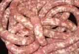 Klobáska jahňacio-bravčová, Salsiccia, vákuovo balené